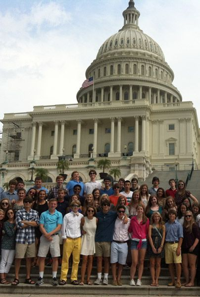 10th Grade Trip Week to D.C.
