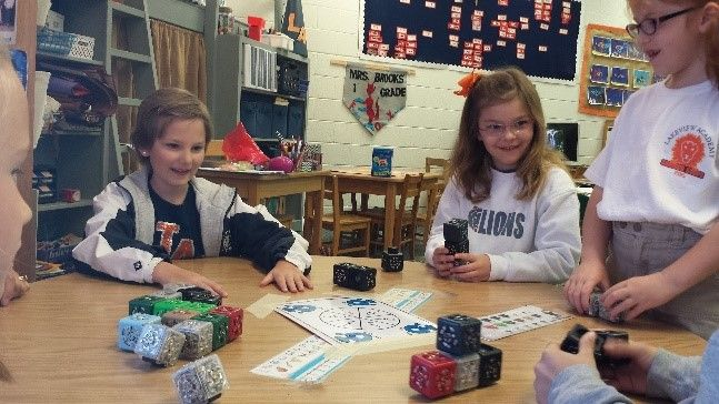 Early Learning and Lower School students learn robotics through LEGO Cubelets