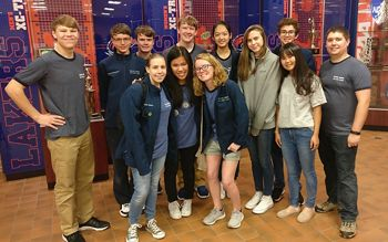 In 2018, Lakeview's Upper School Robotics team won 1st Place at the Regional competition and was recognized as semi-finalist for the Design Award the the Pali Proto League Championship.