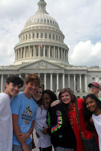 10th grade Trip Week to Washington, D.C.