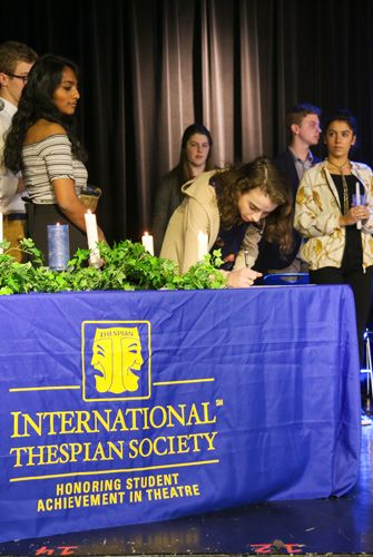 International Thespian Society Induction