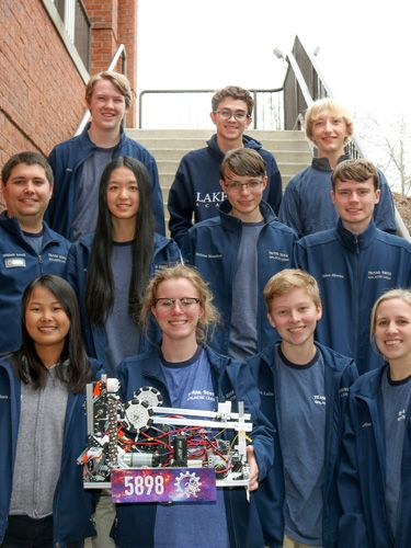 Award-winning Robotics team