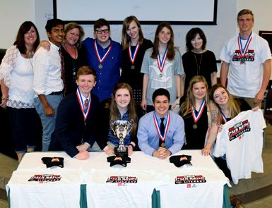 2016 State A Literary Champions