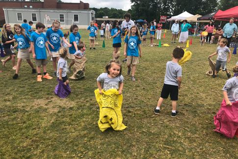 K3, K4 and Kindergarten have their own field day hosted by the 5th grade
