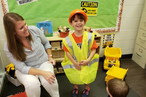 Our preschool's early learning program is refreshing and enthusiastic creating a positive atmosphere for learning.