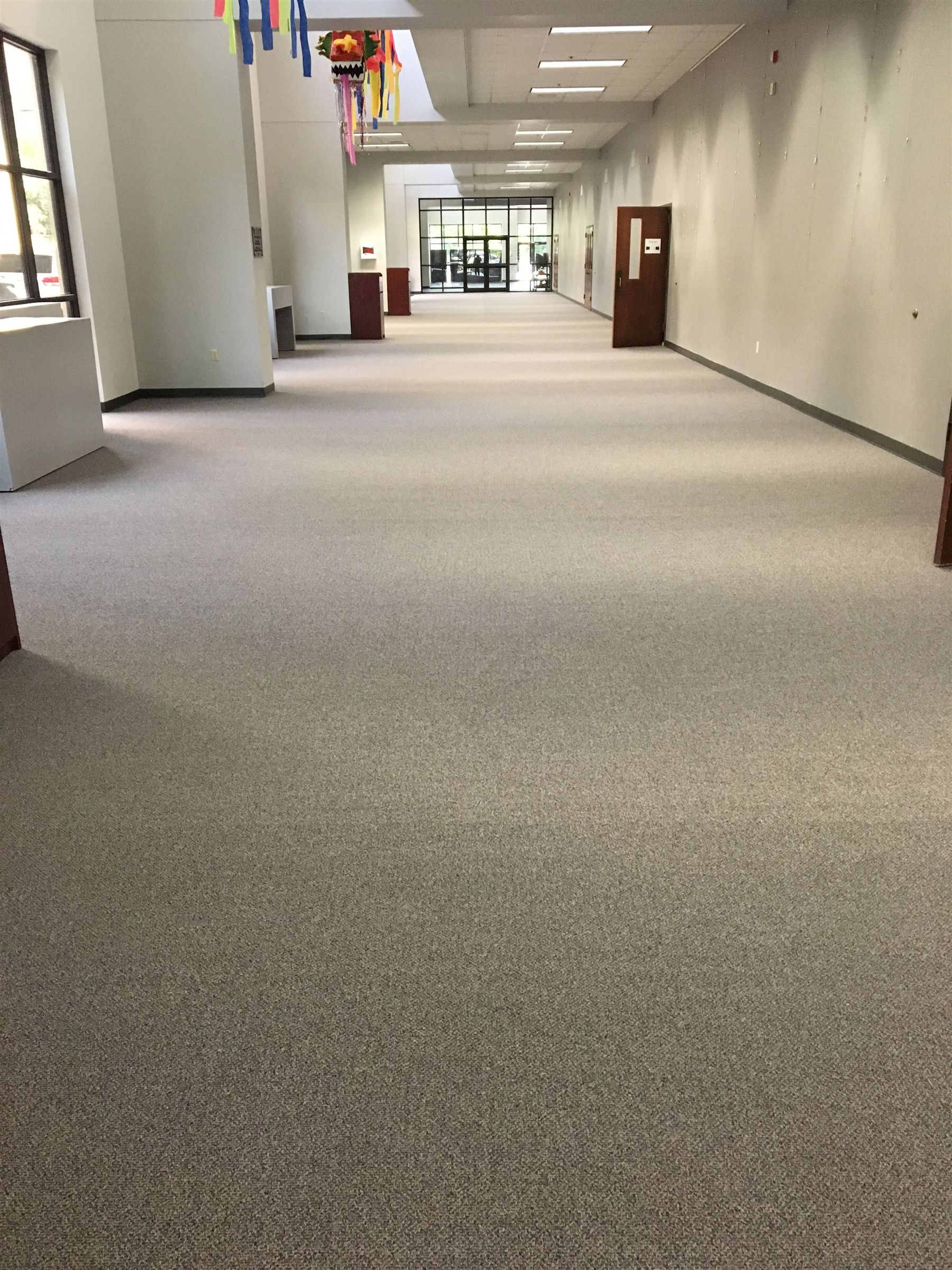 NEW carpet in CPAC