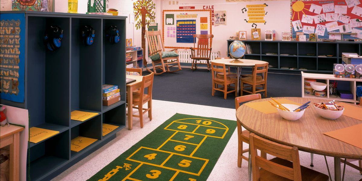 Our spacious, child-friendly classrooms make this a cheerful, exciting place to start exploring the world.