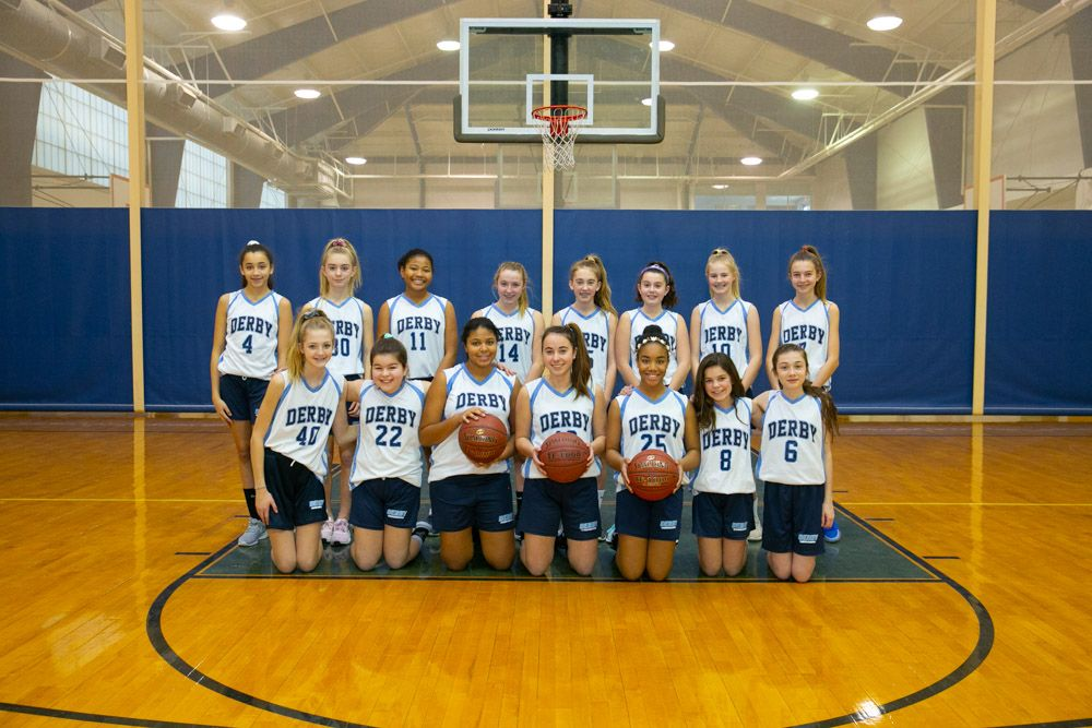 Girls JV Basketball 2019
