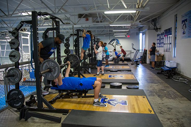 Weight Room used by Strength and Conditioning Classes