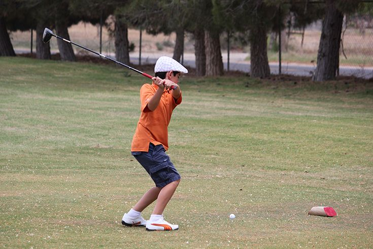 Golf practices at the country clubs and municipal course in Midland