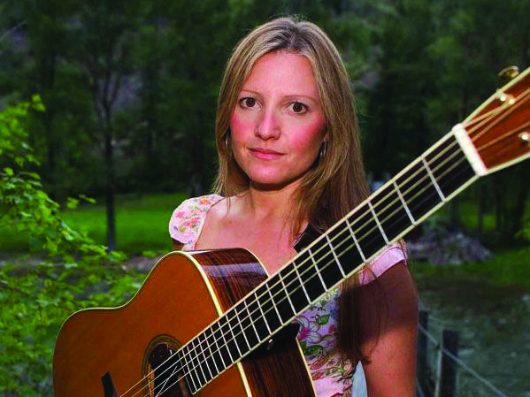 Rebecca is an accomplished musician with bluegrass group Hit & Run, and she is the first woman to appear on the cover of