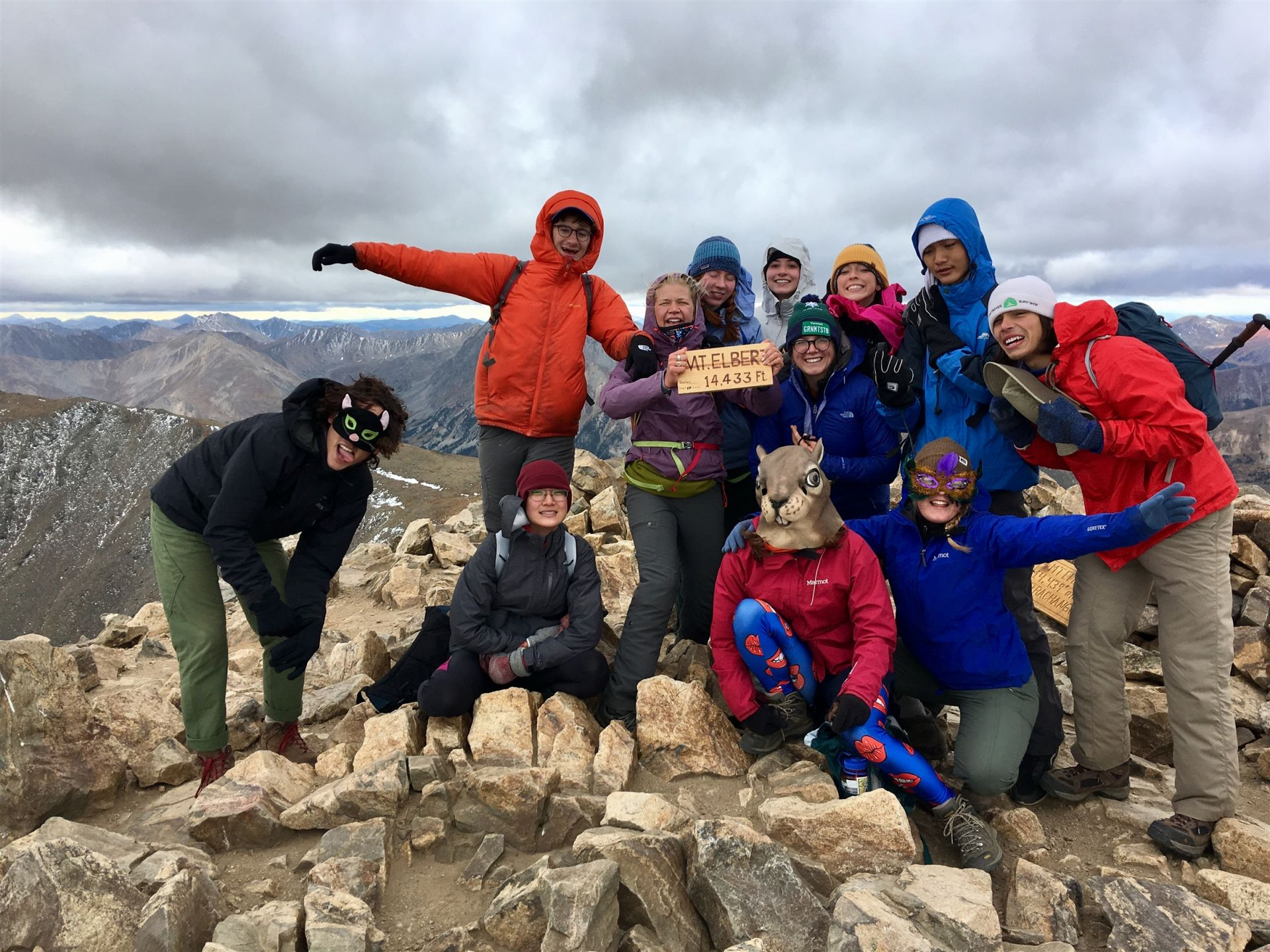 She accomplished a unique feat – led her first mountain climbing expedition for Colorado College to Mt. Elbert, the highest summit of the Rocky Mountains at an elevation of 14,433 feet.