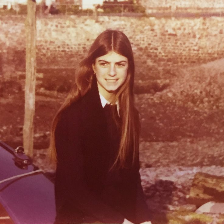 Joni Rodman as a St. Catherine's School Student