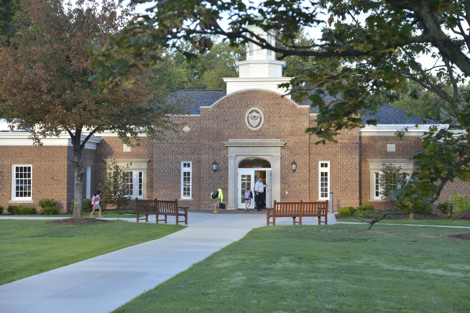 The Lower School entrance.