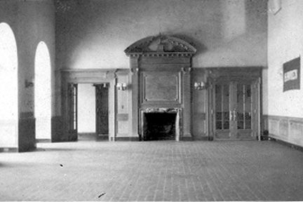 Common Room, now Library, Bolton Hall, Lyndhurst, 1926.
