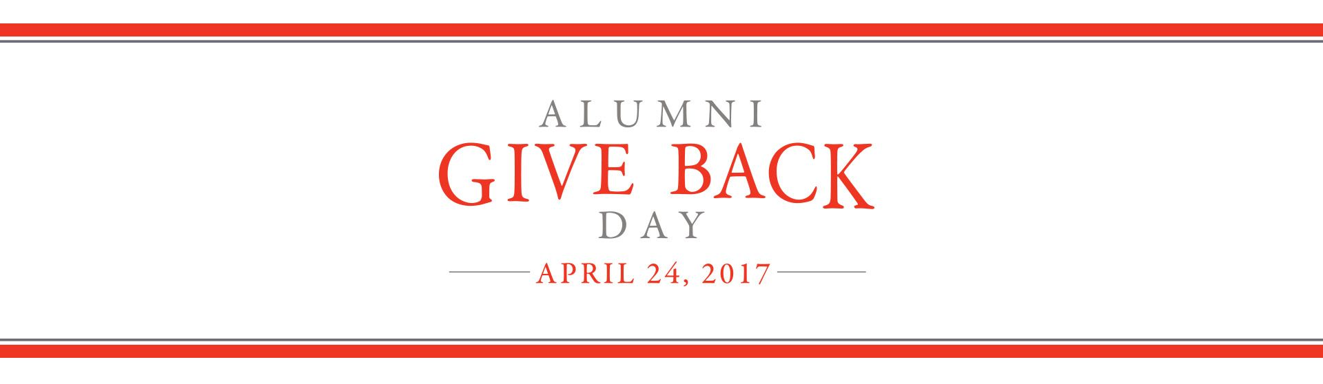 Alumni give back day hawken alumni have a long tradition of giving back to their community and that is once again abundantly evident as we look forward to alumni give back day fandeluxe Choice Image