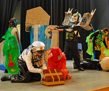 Several of our Destination Imagination teams have gone to the global finals.