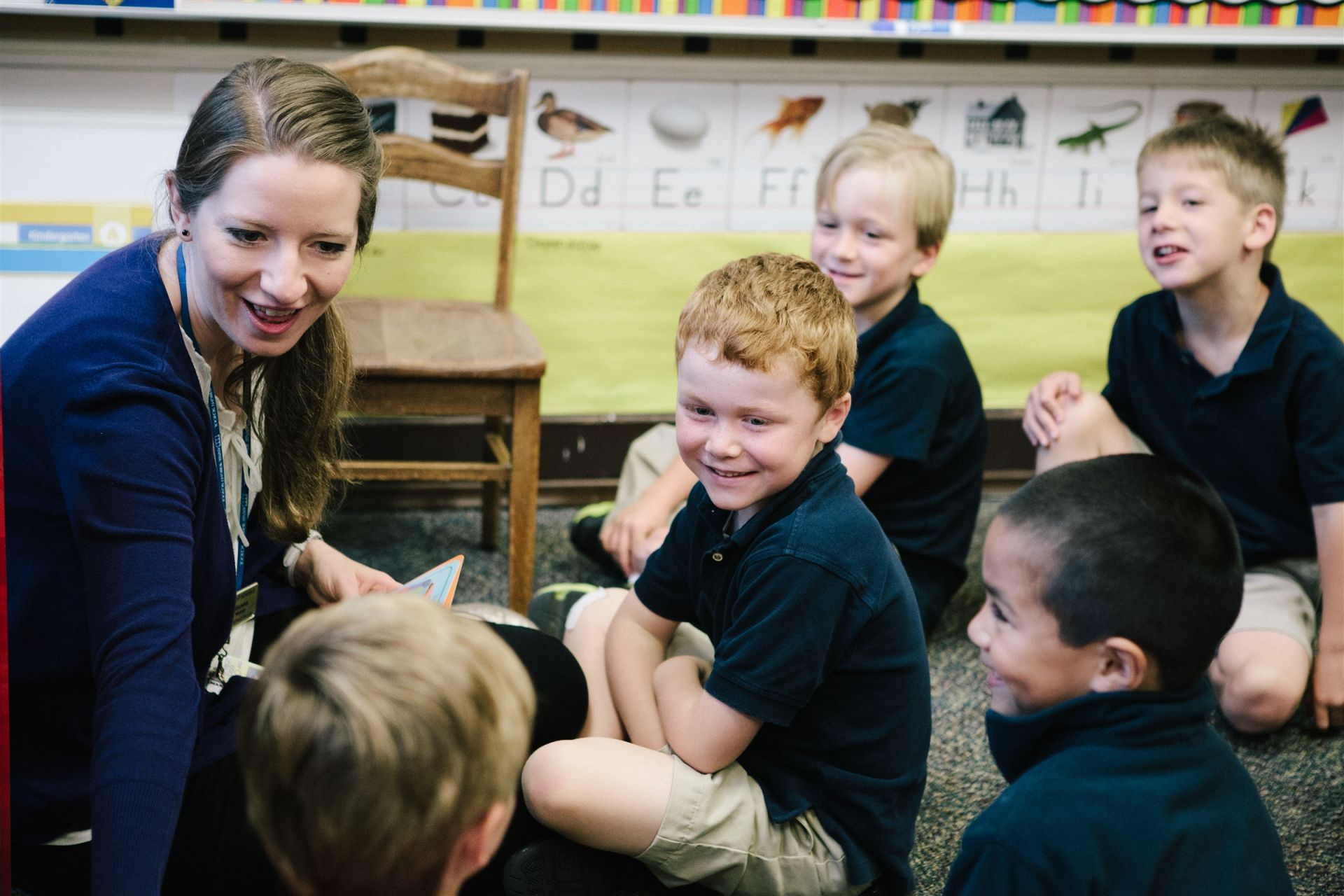 Small class sizes allow teachers to provide students with individual attention.