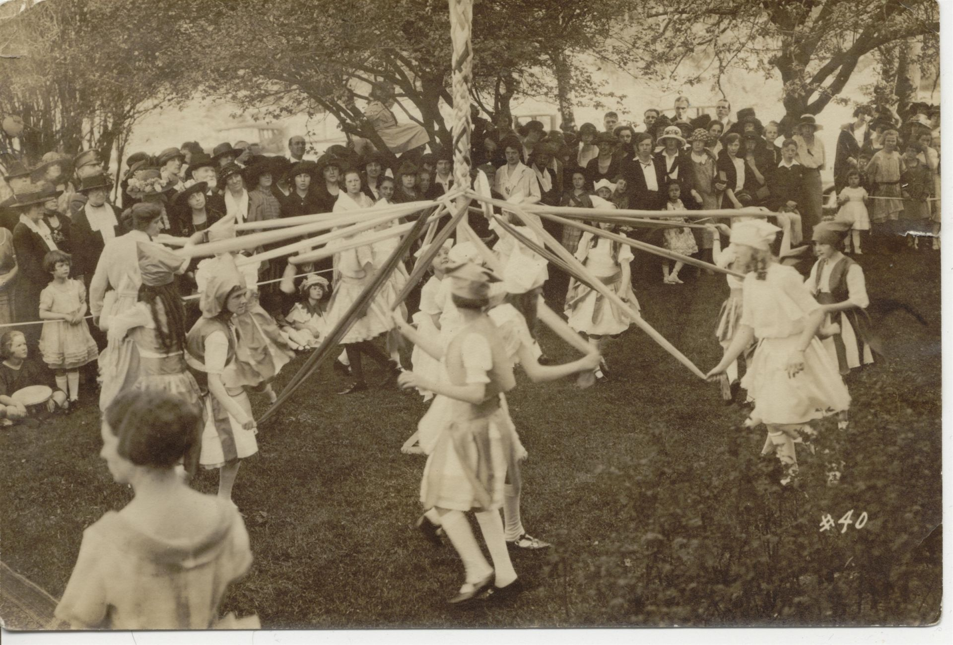 May Day Pole Dance 1923