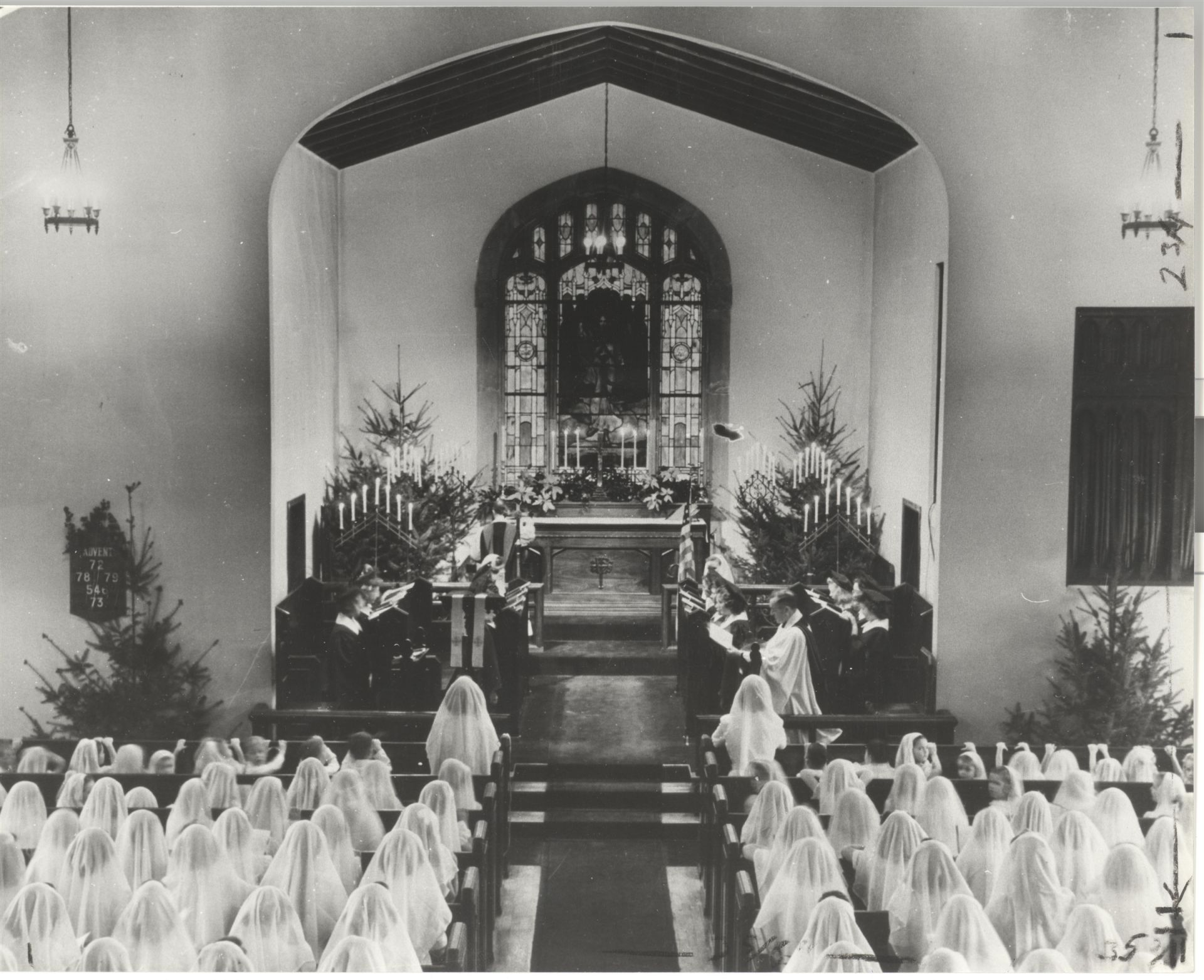 Chapel in the 1930s