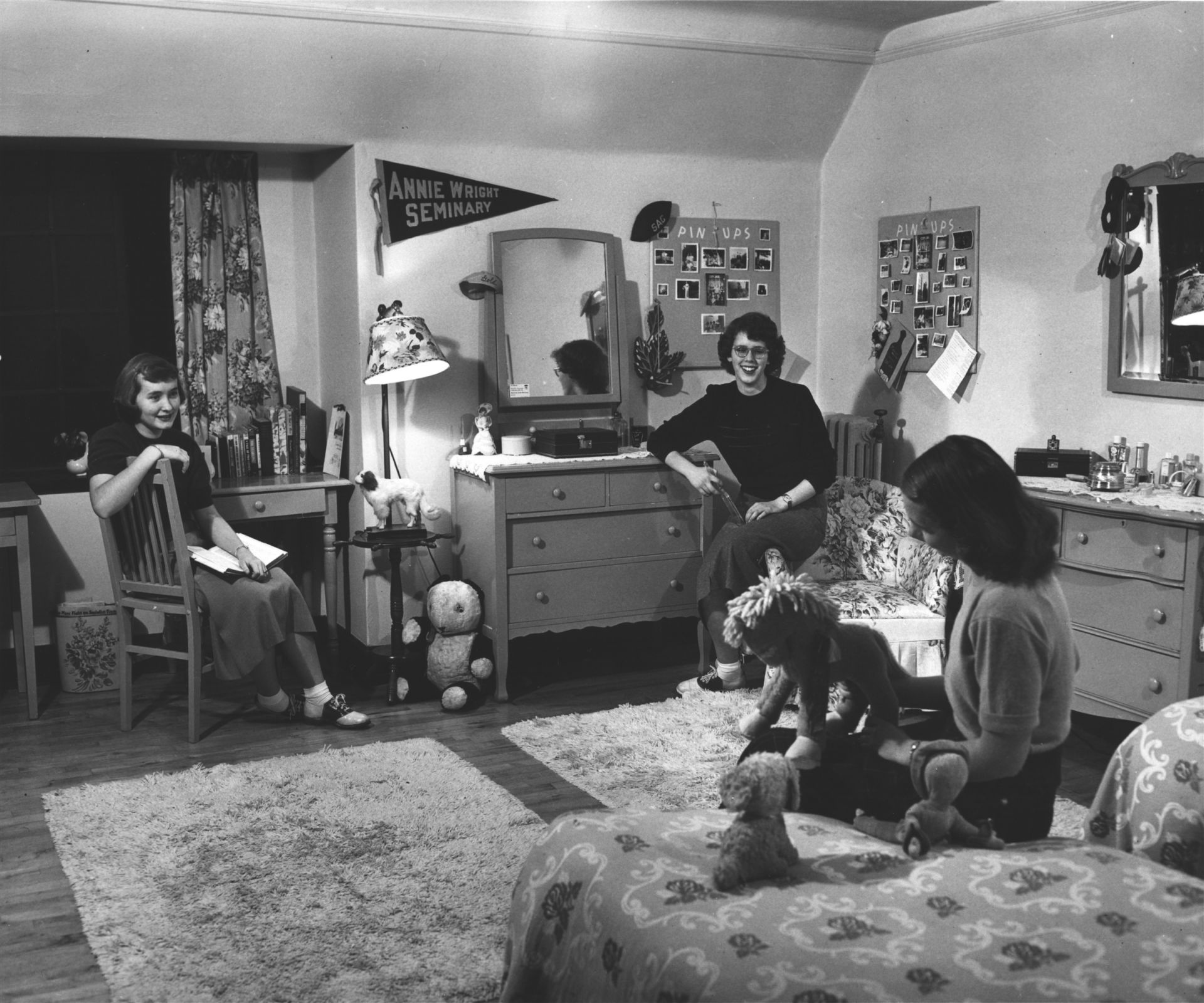 Dorm Room in the 1960s