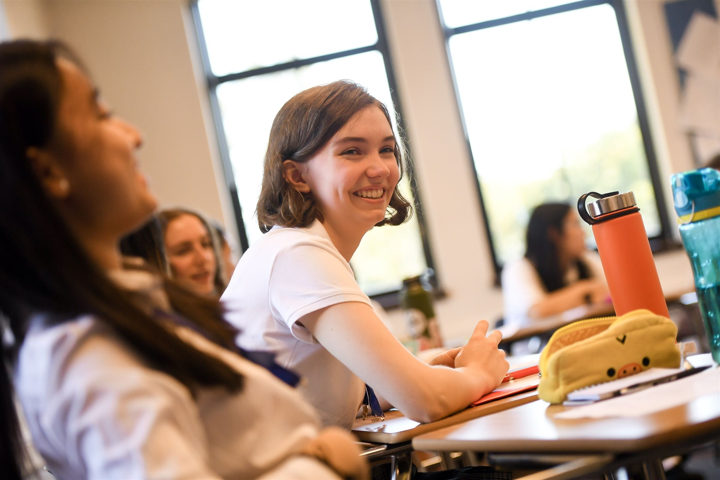 Upper School classrooms inspire inquiry and engagement.