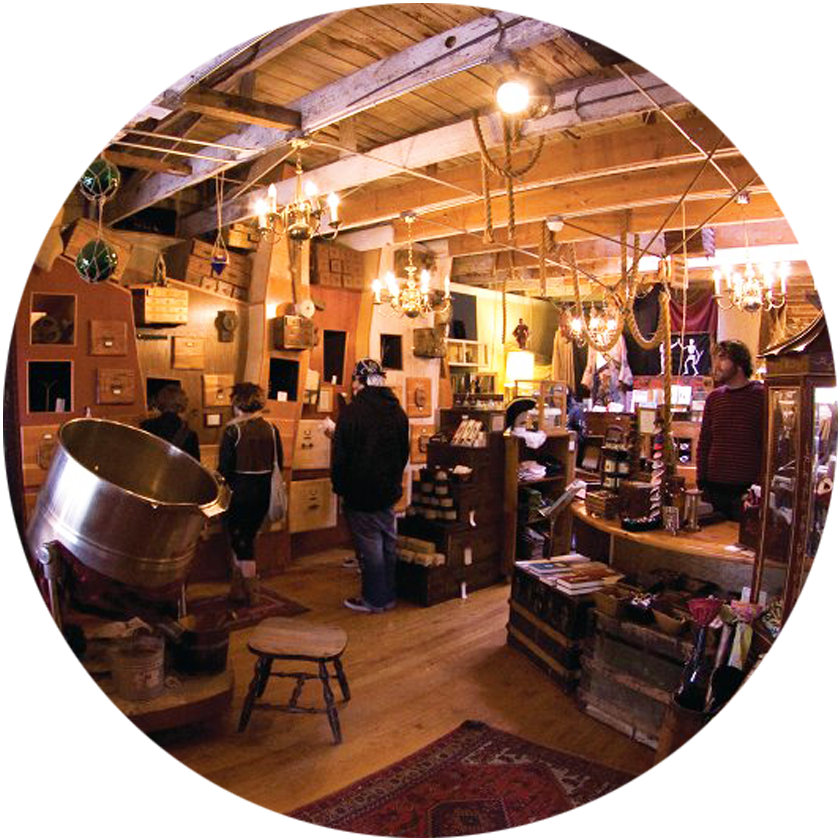 """826 Valencia Pirate Supply Store, and eclectic shop selling pirate clothing and accessories to benefit the nonprofit"