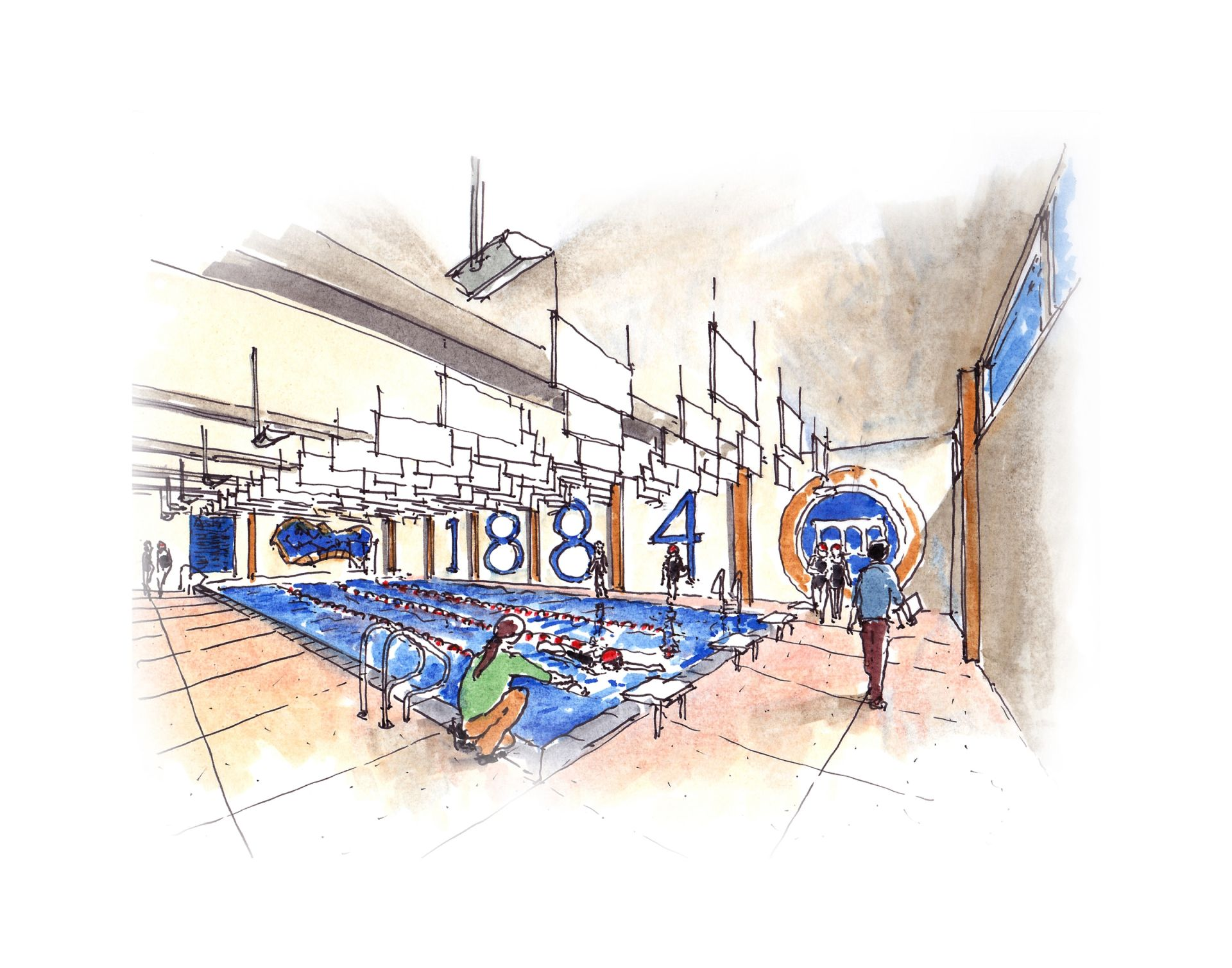 The new pool will allow swim lessons for students of all ages.