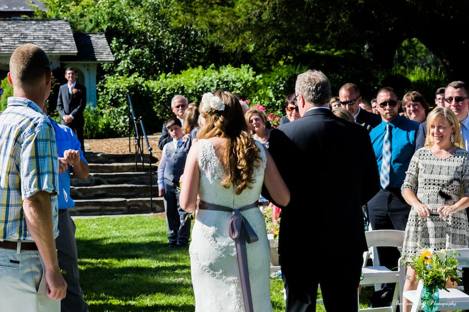 Miss Charlotte's Garden, the lovely site of the School's commencement each May, is perfect for a wedding, garden party or other outside event. It features a gazebo and large level area surrounded by lush greenery and flowering shrubbery.