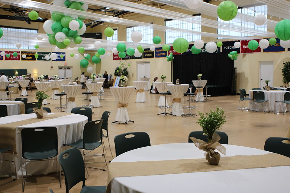 For an indoor event, the Athletic/Student can be transformed into an elegant venue. Don't let its size fool you -- there are many areas in this building that would be a perfect size for the smallest gathering to a very large banquet, reception, show, or dance.
