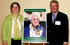 Honoring Barbara Hartley Lord '41