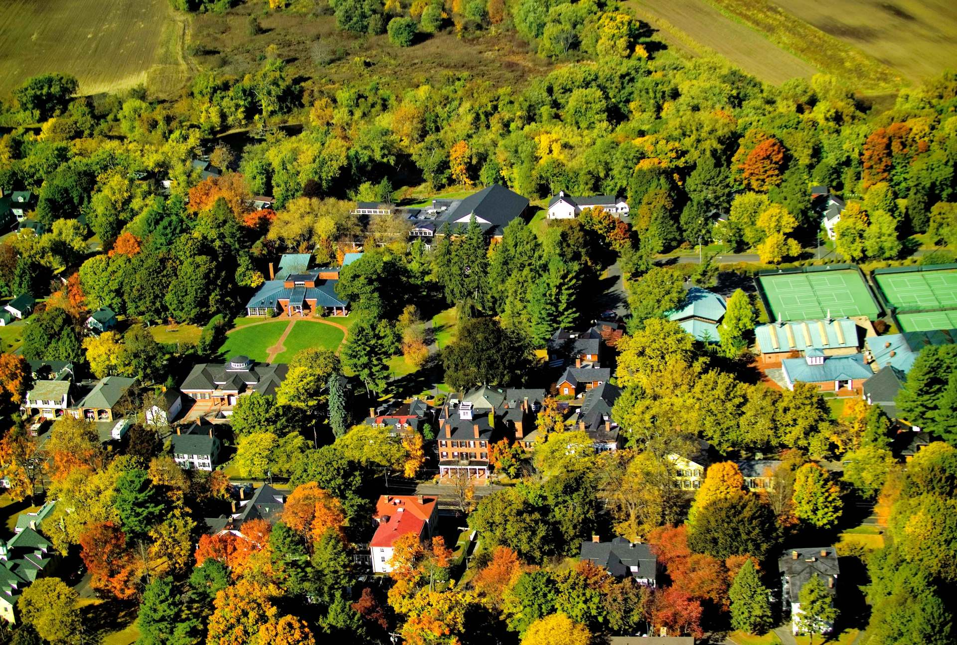 Our campus, located in the center of Farmington, Connecticut.