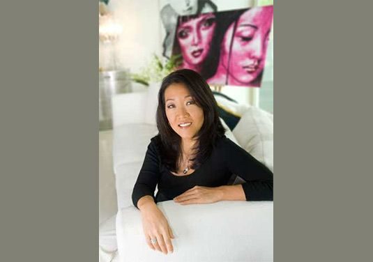 May Lee '84, creator of Lotus House Media and the May Lee Show.