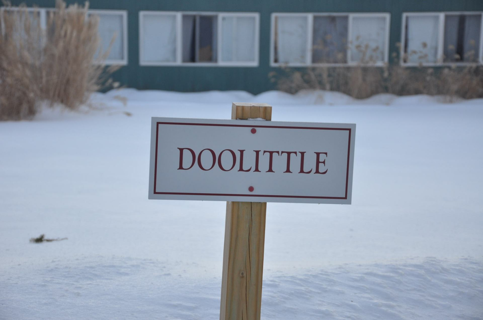 Doolittle Dorm is divided into Upper Doolittle, which houses boys in grades 7-8, and Lower Doolittle, which houses boys in grades 9.