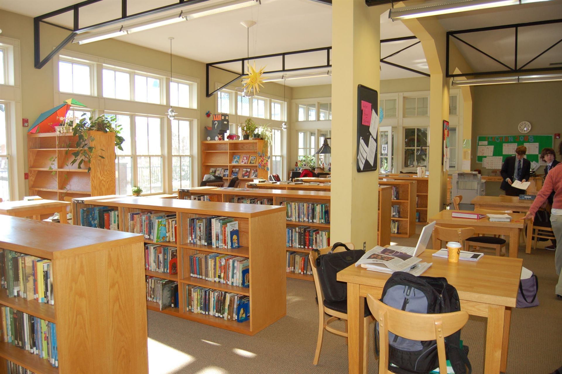 Upper Campus library