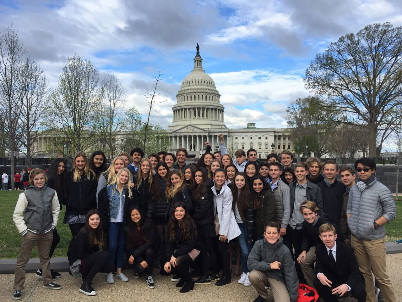 Eighth grade students in Washington, DC.