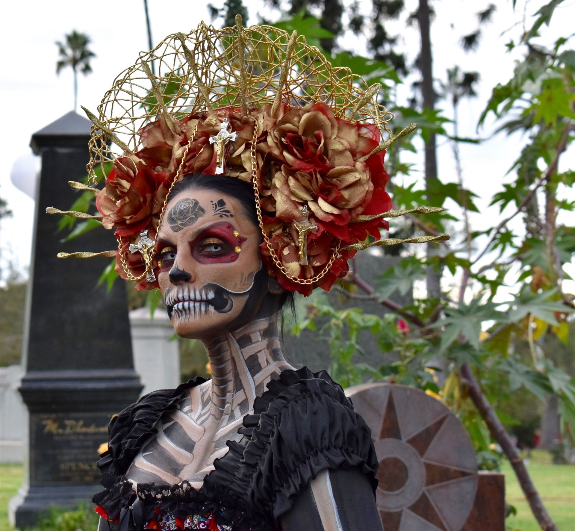 Sophie D., Day of the Dead #2 SILVER