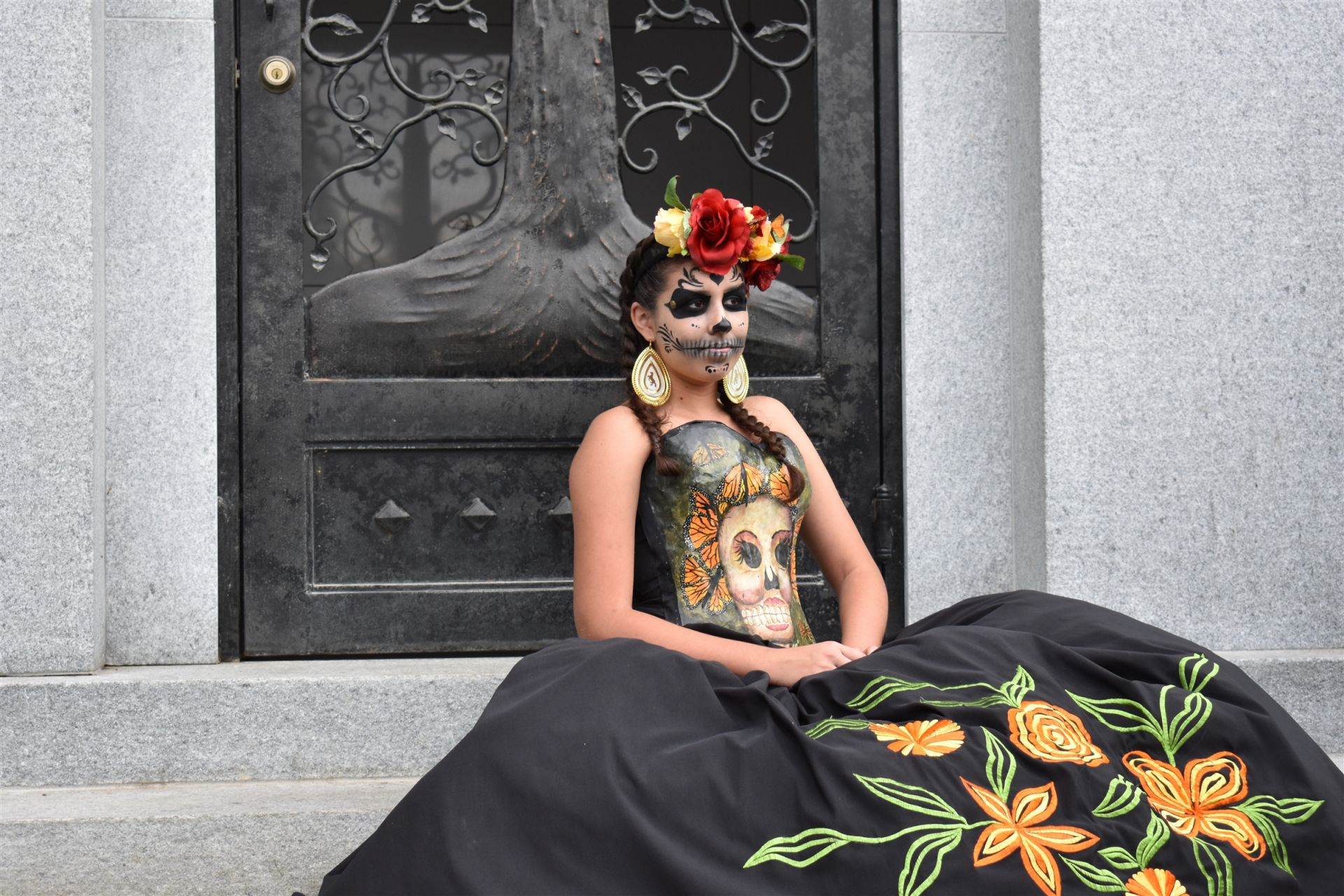 Sophie D., Day of the Dead #4 GOLD