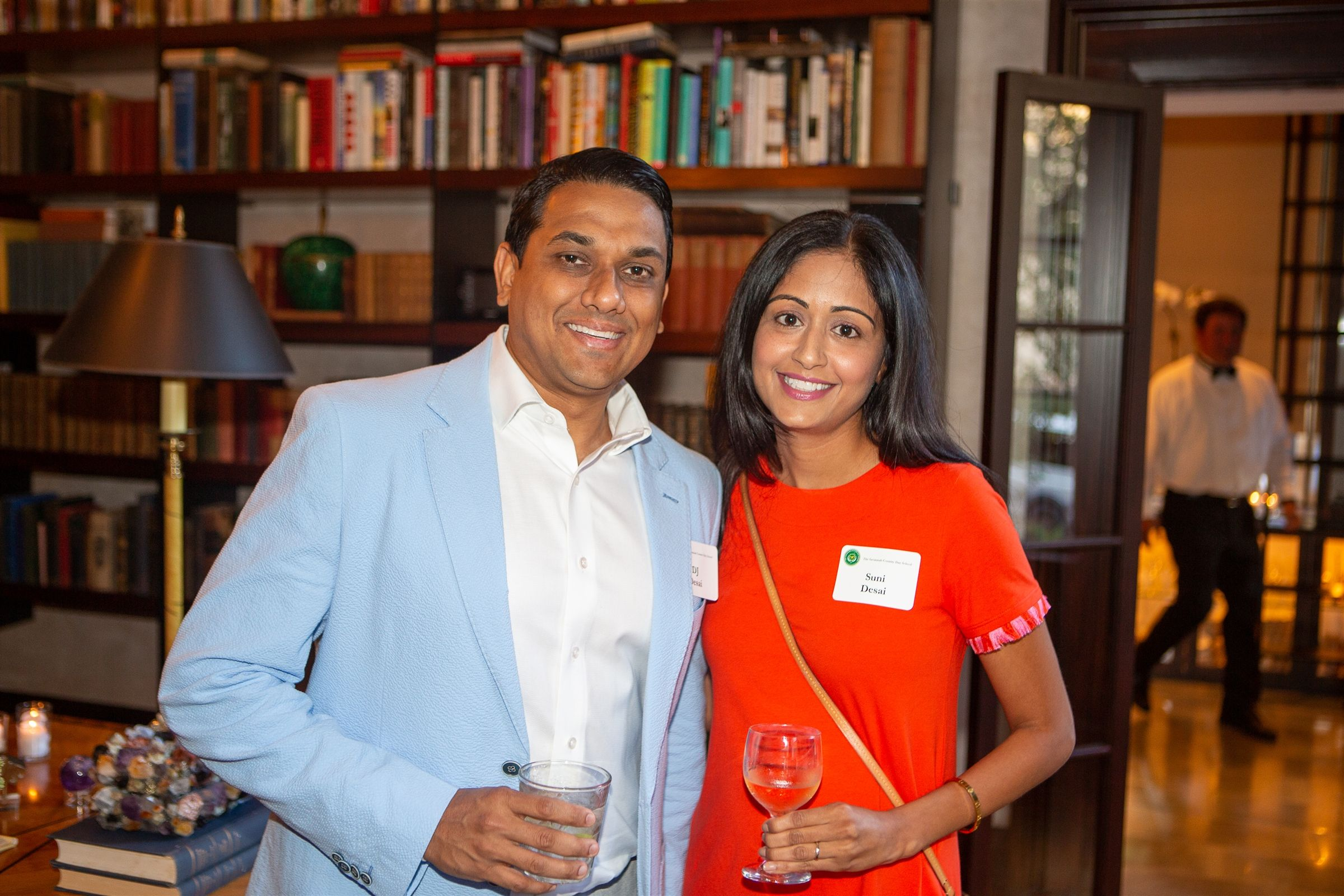 Suni & DJ Desai at the 2019 Green & Gold Dinner
