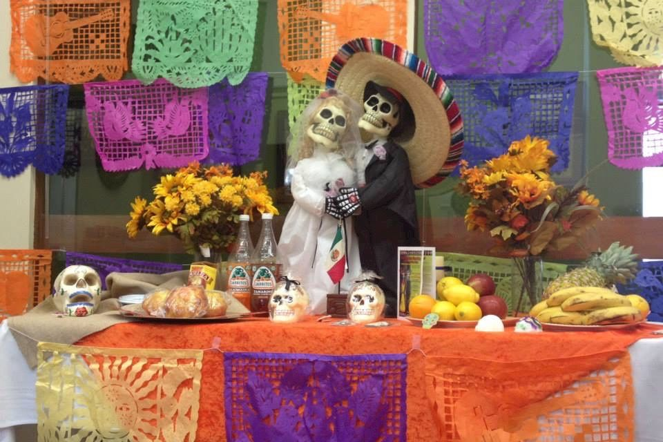 7th grade Spanish classes celebrate the Day of the Dead
