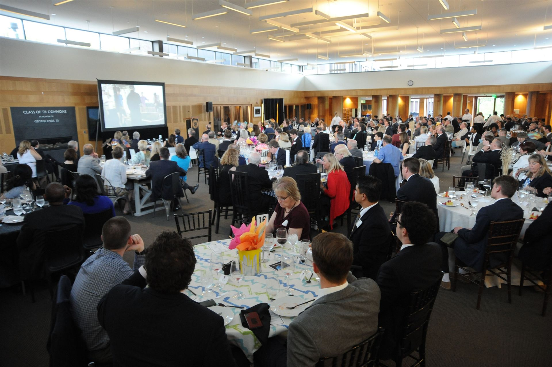 More than 250 former Strnad Fellows and their families gathered to celebrate the 50-year anniversary.