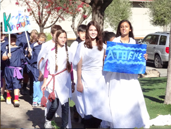 7th grade parade of Greek City-States