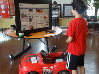 Applied Science Fair: a car that can't crash