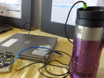 Applied Science Fair: a temperature-controlled drink thermos