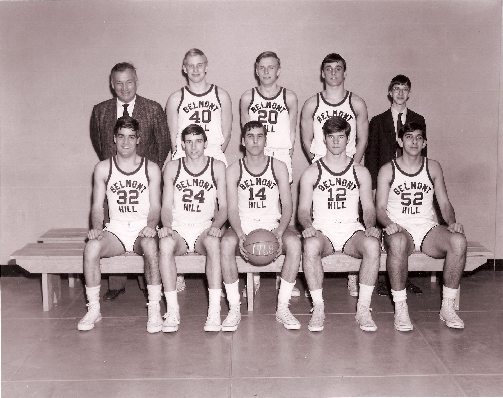 First Row: Siegfried, Forte, Wyner, Buchanan, Chobanian Second Row: Mr. Croke, Bowen, Talbot, Littleton, Henriquez