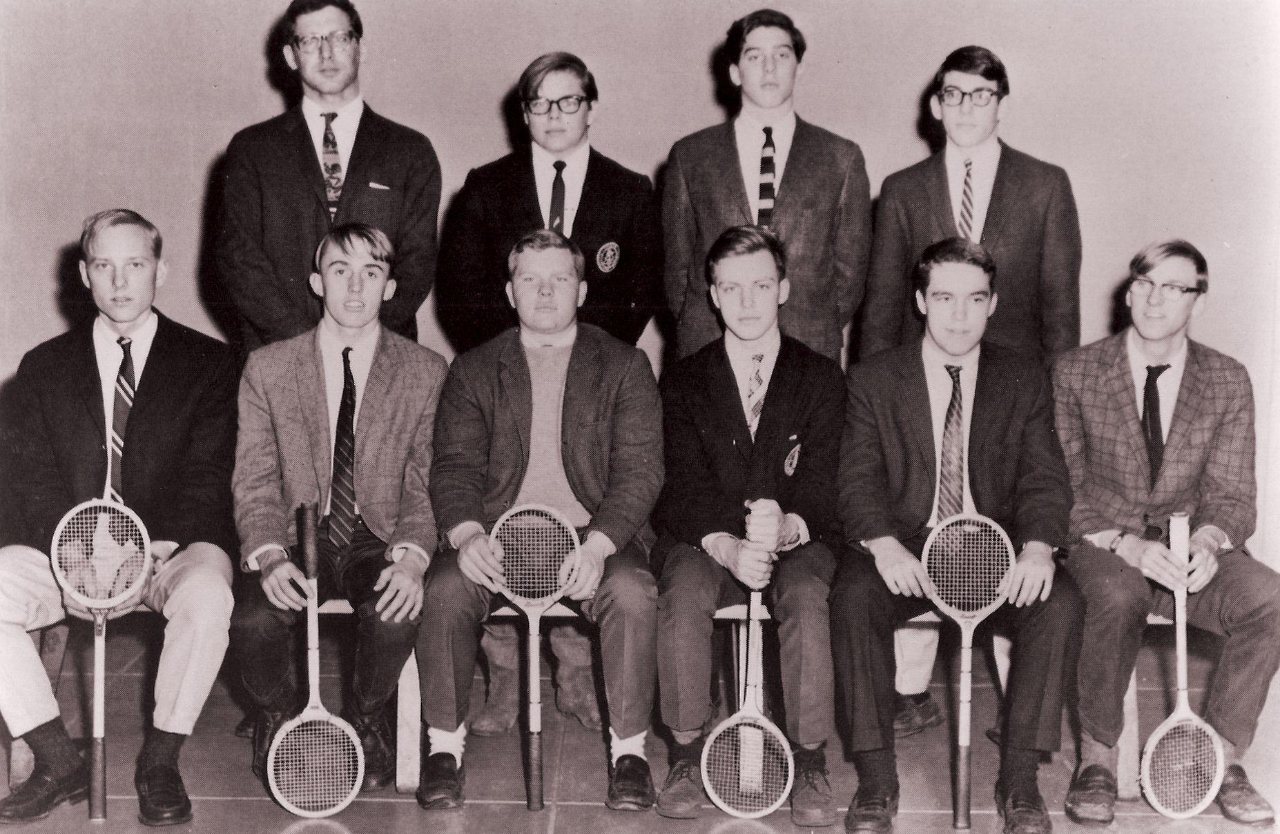 First Row: S. Dale, Dunn, Otway, Leavitt, P. Campbell, Price Second Row: Mr. Seeley, Fitzgerald, Snider, Downes