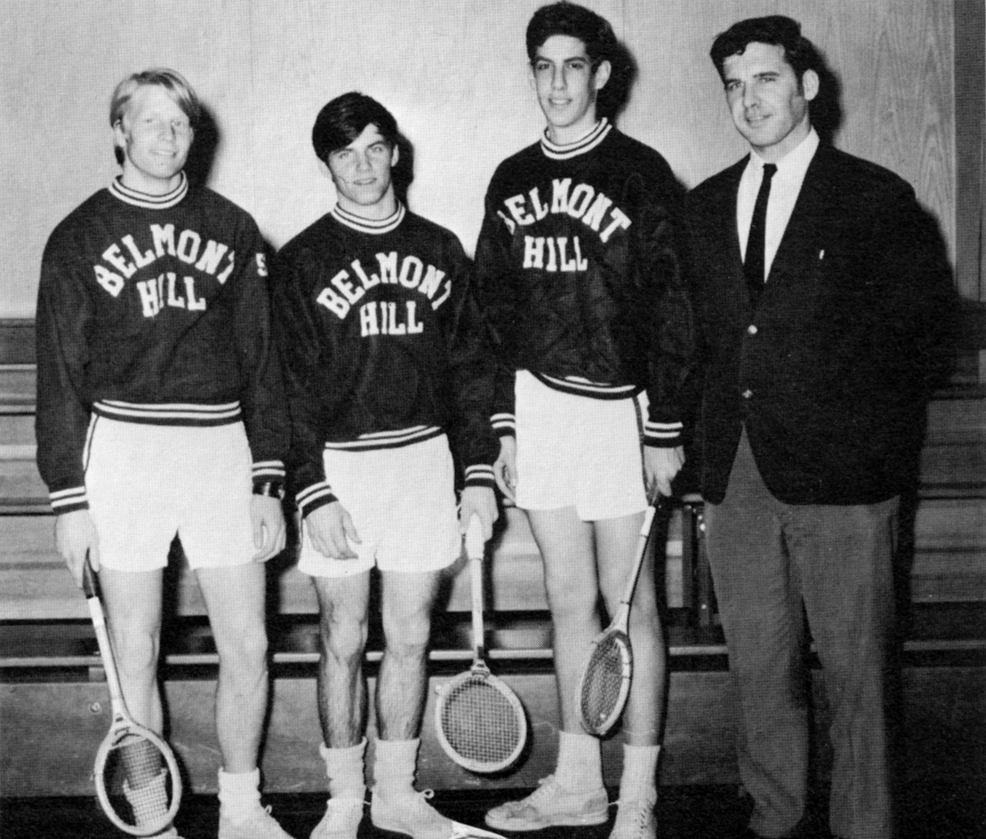 John Samuelson, Captain George Henderson, Richard Leventhal, Mr. Seeley