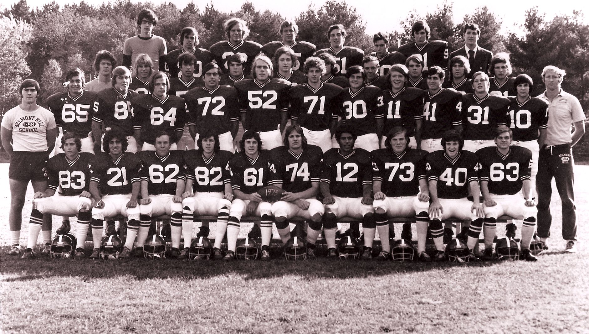 First Row: Howe, Wald, J. Sullivan, Ronan, Finnerty, Mazzone, Reynolds, C. Davis, Sheehan, PhinneySecond Row: Mr. O'Donnell, Mele, French, Mannix, Kerhulas, Porter, Morse, D. O'Connell, Casey, Sweeney, P., Sullivan, Pass, Mr. MackenzieThird Row: Mr. Clift, Parks, Guarnaccia, Hurley, S. Coughlin, Rogers, D. Sullivan, Henley, Barrett, GreenFourth Row; Freiman, C. Smith, Goodhue, Livingstone, Ullian, Blanco, Reiss, Pious