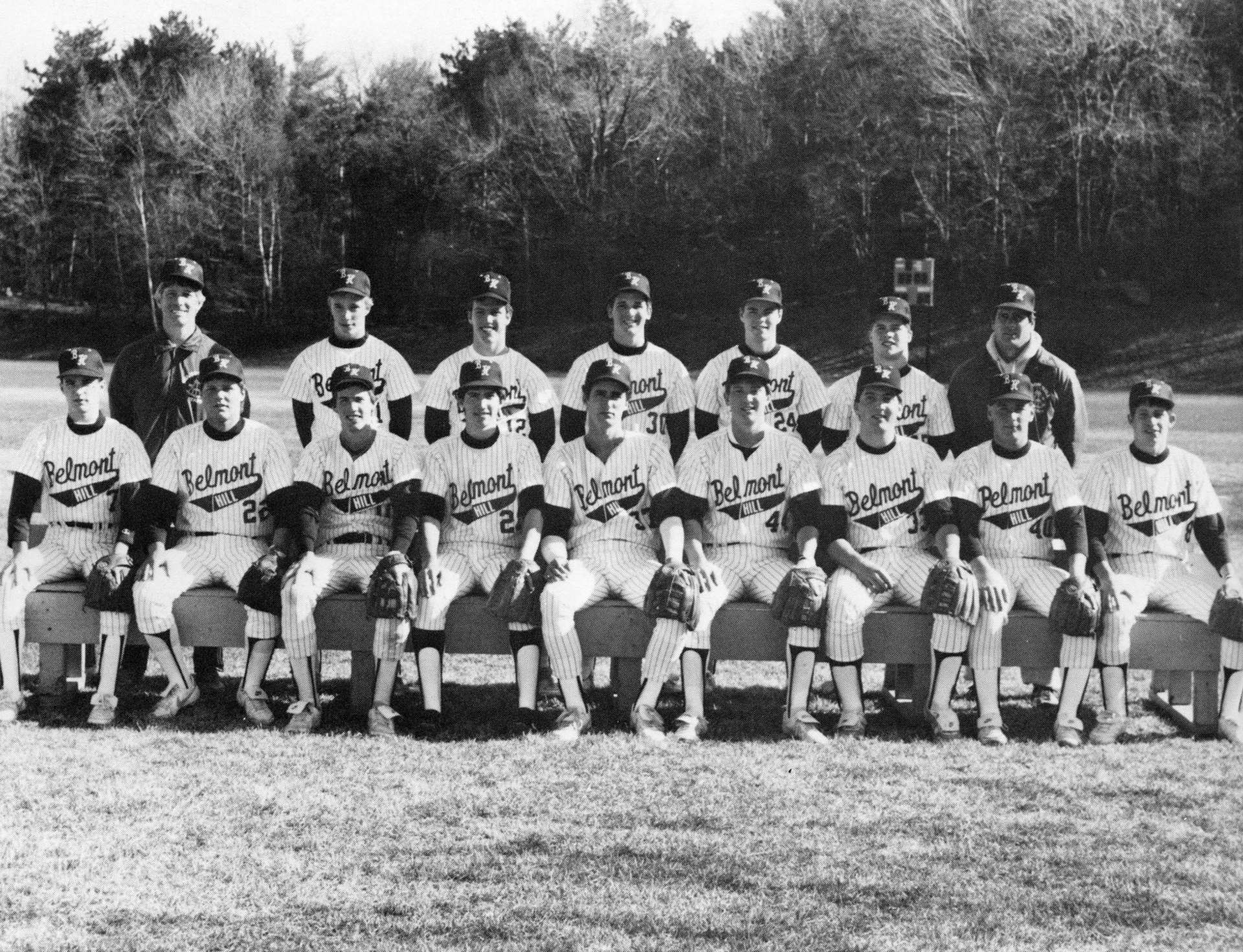 First Row: G. Lynch, B.Leary, G. Humann,F. Mooney, C. Connelley, D. Parrot, F. Bacon, M.Drucker, S. Landaud Second Row: Mr. Martin, Mr. Hardin, T. Madden, W. Averill, D. Browne, D. Sullivan, Mr.Goodband,  Missing: J. Biotti, J. Coady, W. Bac