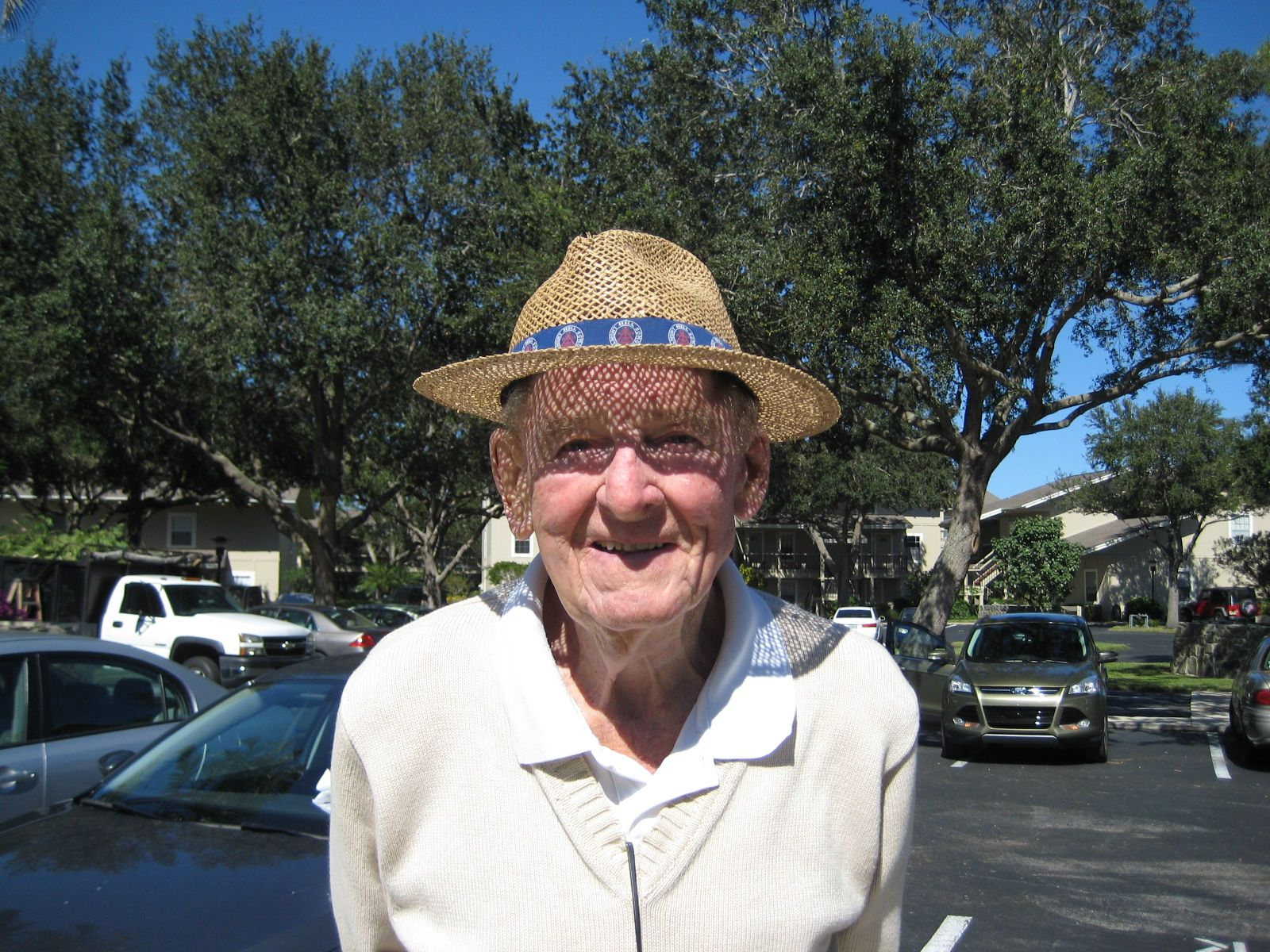 Lunch with Joe Basso'47 in Jupiter Florida on October 30, 2012.